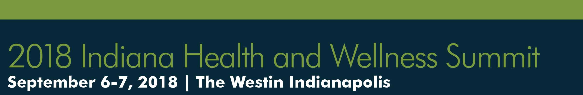 Indiana Health and Wellness Summit Mobile Retina Logo